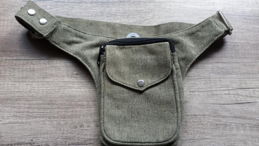 Sidebag beige