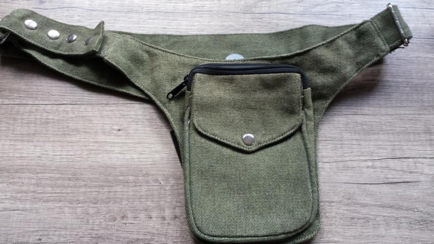 Sidebag oliv